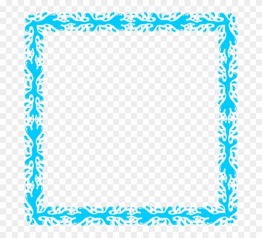 Download Transparent Blue Frame Png Clipart Clip Art.