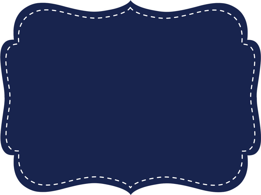 Blue Frame Clipart Png.