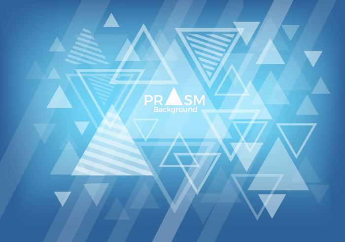 Free Prism Background Vector.