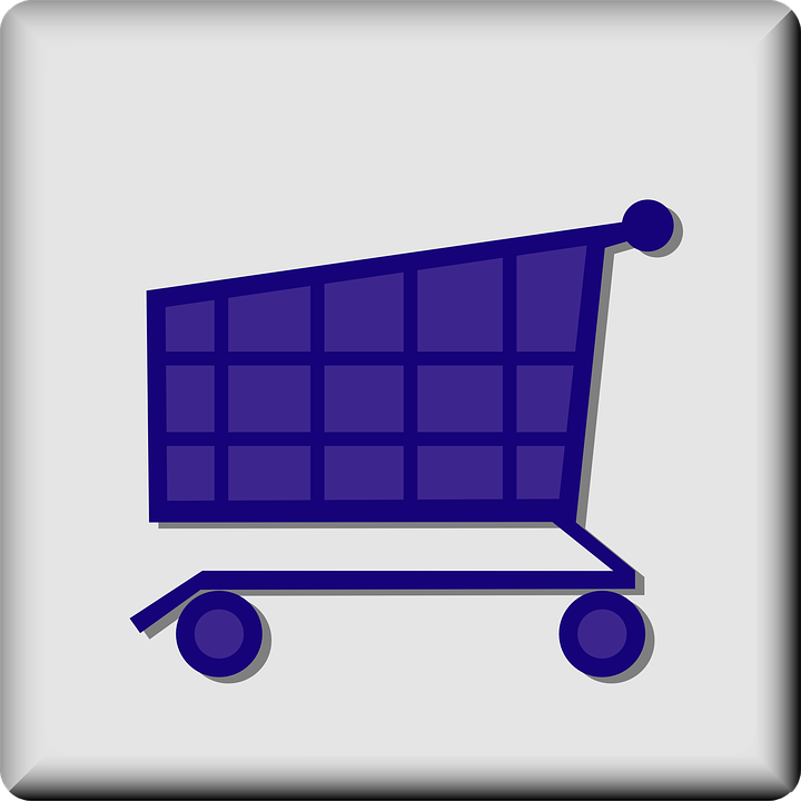 Free vector graphic: Cart, Grocery, Store, Push Cart.