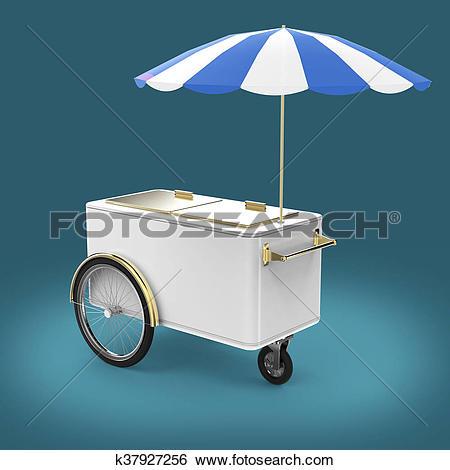 Ice cream stall Clip Art and Stock Illustrations. 35 ice cream.