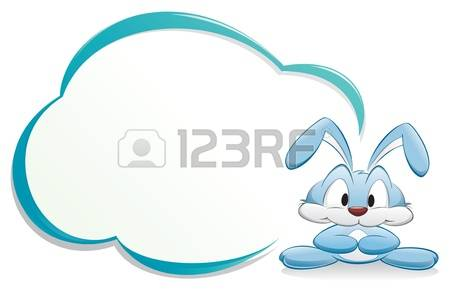 9,392 Blue Rabbit Stock Vector Illustration And Royalty Free Blue.