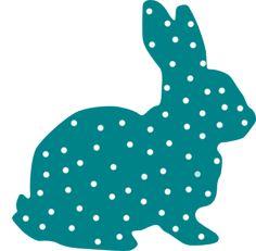 royalty free vector Easter rabbit clip art, bunny clipart.