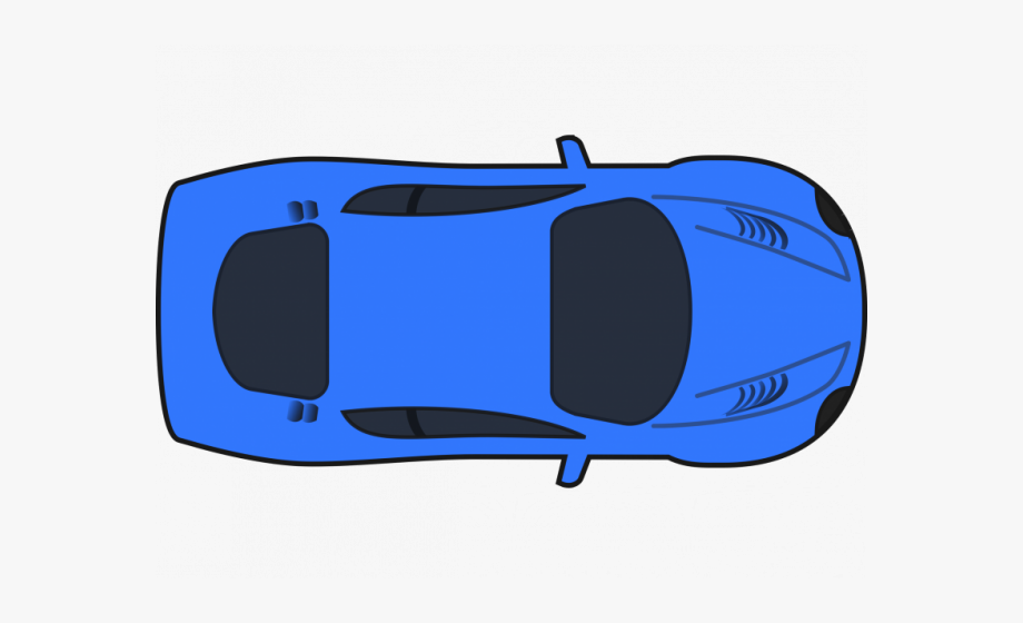 Blue Car Clipart Race Car.