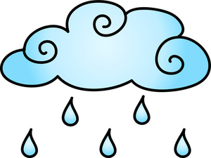 Raining Clipart Image.
