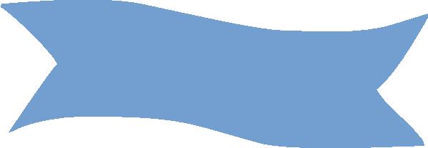 Blue Banner Clipart.