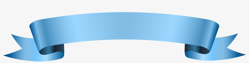 Blue Ribbon Banner Png Transparent PNG.
