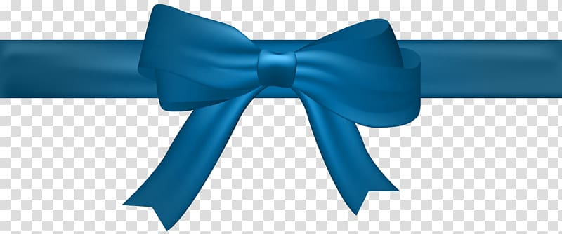 Blue, Bow Blue , blue ribbon border transparent background PNG.