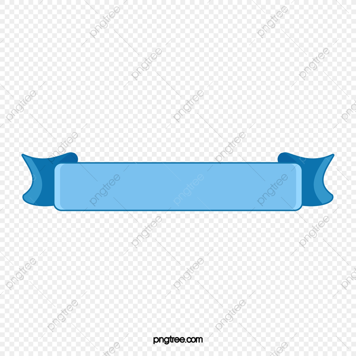 Blue Ribbon Border, Ribbon Clipart, Frame, Strip PNG Transparent.