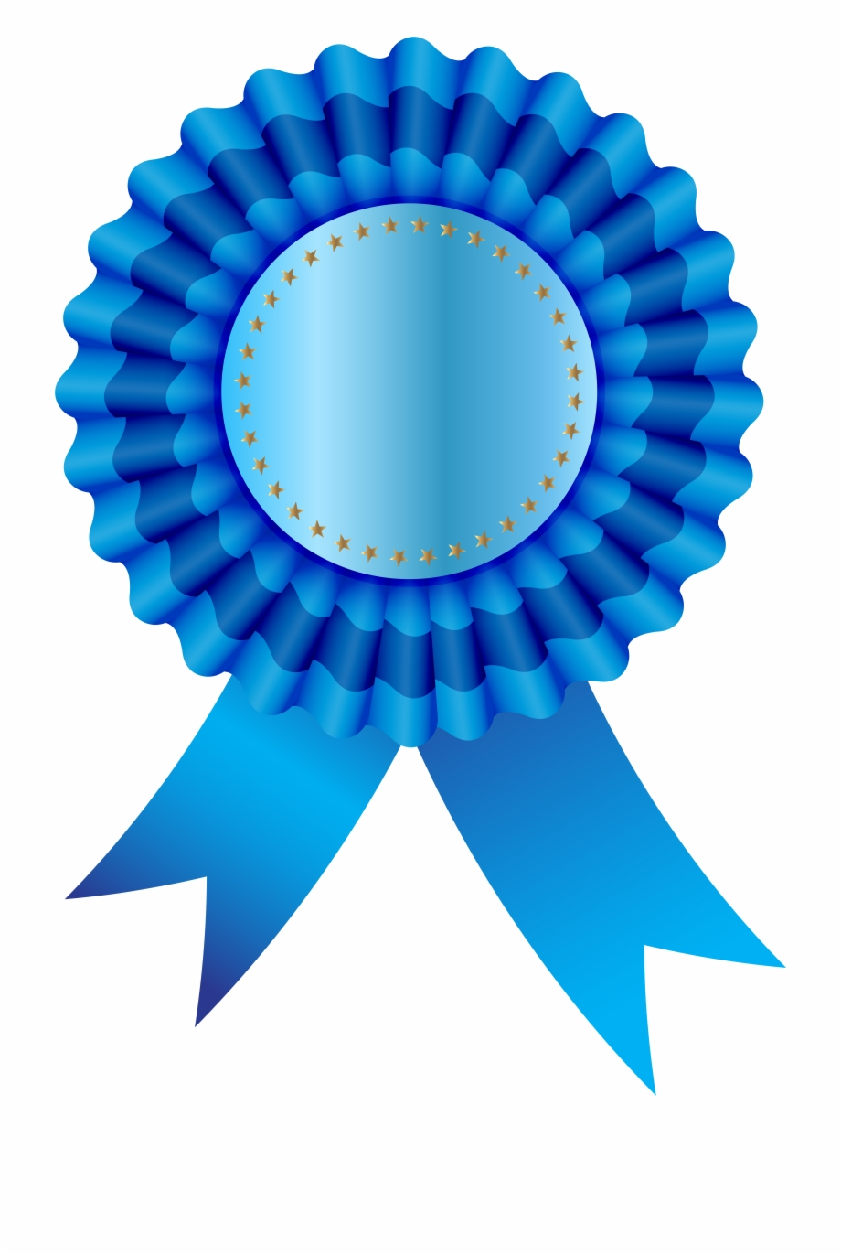 Graphic Free Library Blue Ribbon Free Png Clip Art.