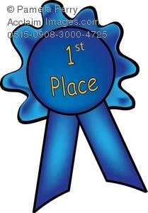1st Place Ribbon Clipart.