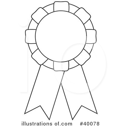 Blue Ribbon Clipart Black And White.