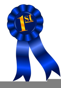 543 Blue Ribbon free clipart.