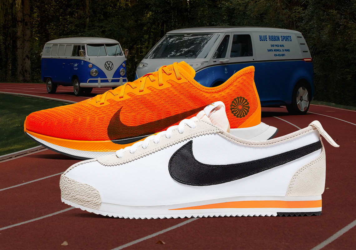 Nike Blue Ribbon Sports Collection.