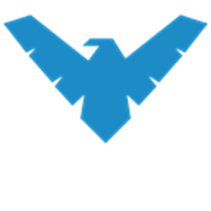 BLUE FALCON LOGO.