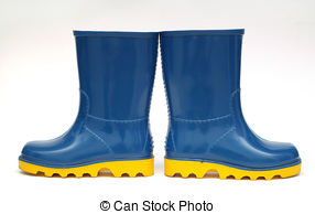 Clipart rubber boots.