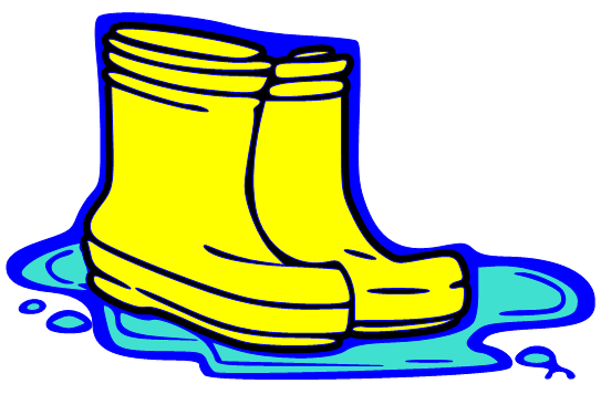Blue rubber boats clipart #7