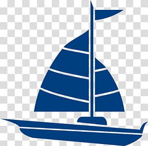 Blue and red sail boat illustration, Drawing Sailboat Sailor , boat.