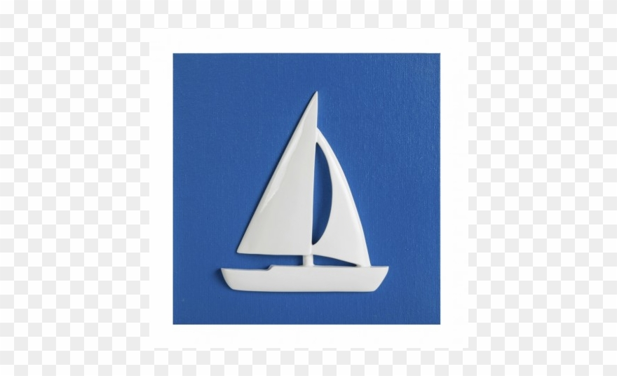 Picture Blue Sailboat.