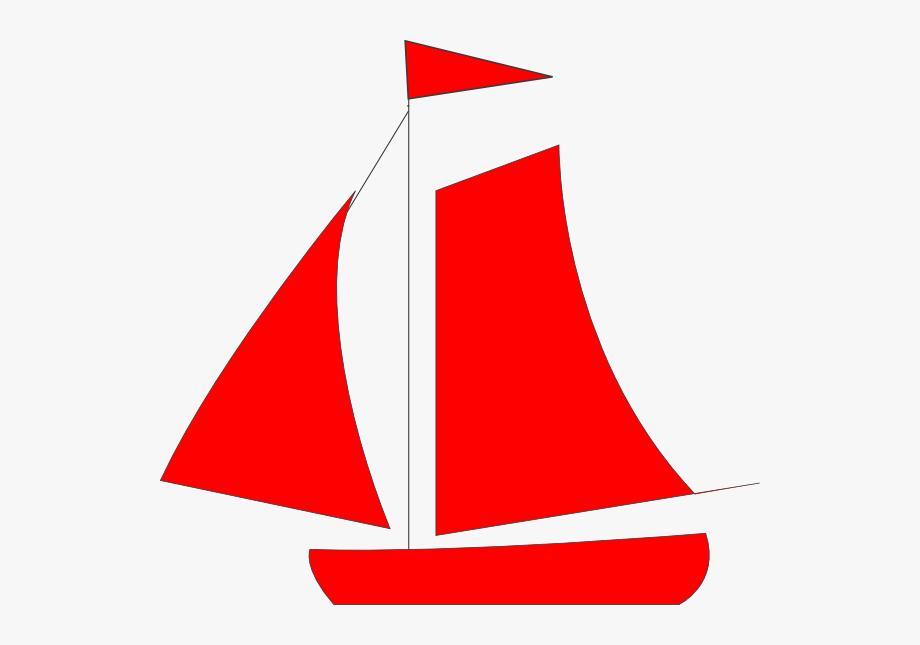 Blue Sailboat Clipart #63544.
