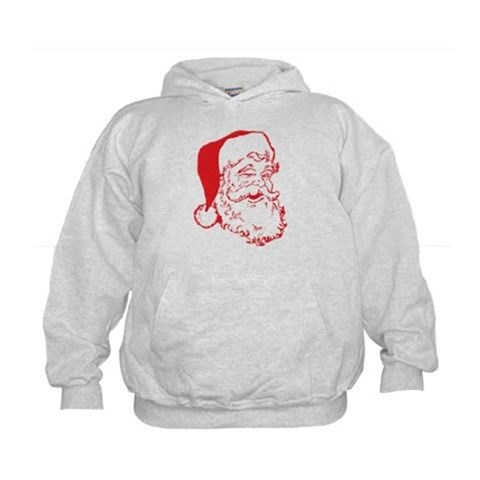 Santa Clip Art Kids Hoodie < Christmas < Holidays @ Stuffosaurus.