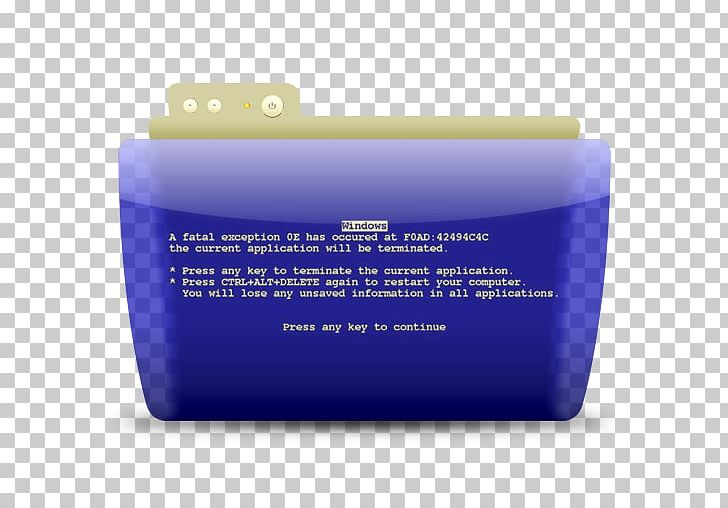 Blue Screen Of Death Computer Icons PNG, Clipart, Blue.