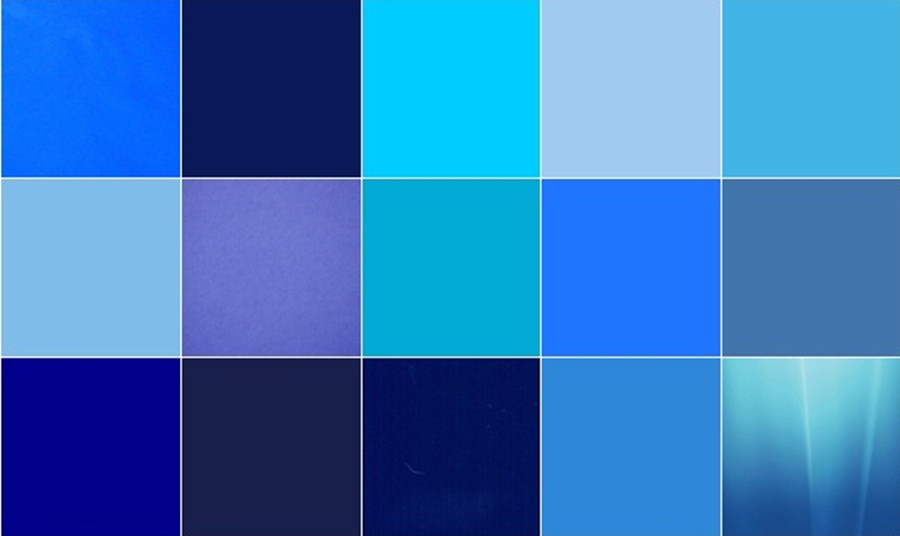 20 Different Shades of Blue Color Names.