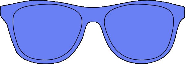 Blue Glasses Clip Art at Clker.com.
