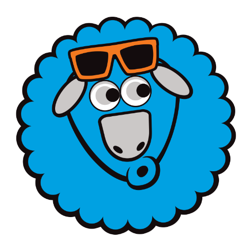 Blue Sheep Clipart Clipground