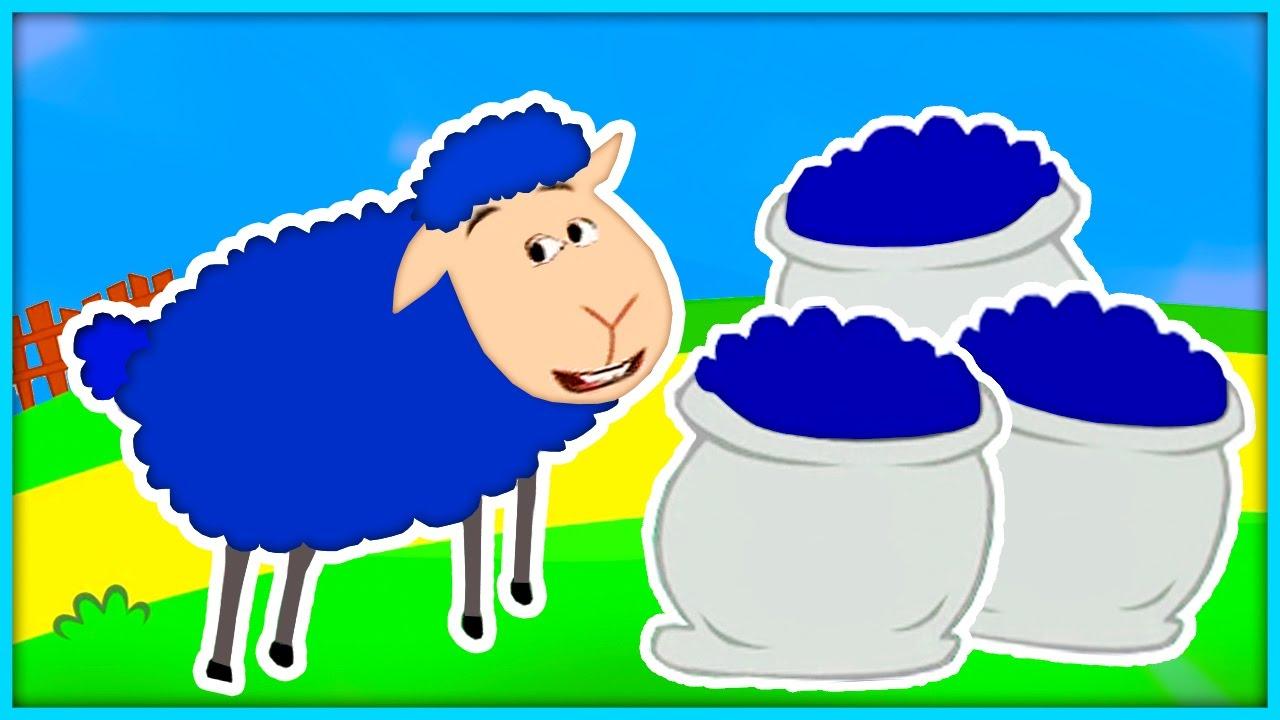 Baa Baa Blue Sheep.