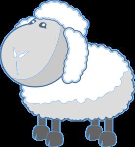 Lamb Blue Clip Art at Clker.com.