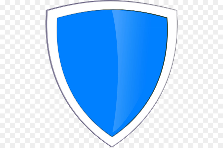 Security Shield Blue png download.