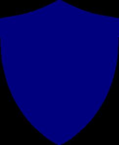Blue Shield PNG, SVG Clip art for Web.