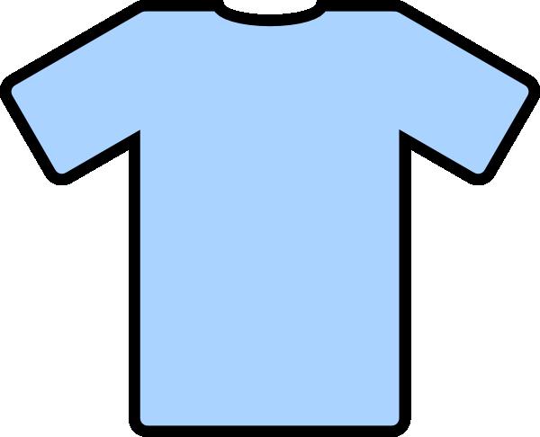 Light Blue T Shirt Clip Art at Clker.com.