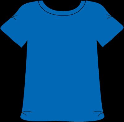 Blue Tshirt.