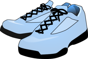 Robin S Egg Blue Shoes PNG, SVG Clip art for Web.