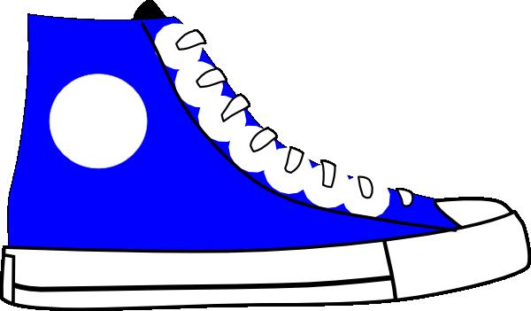 Blue Shoes Clipart.