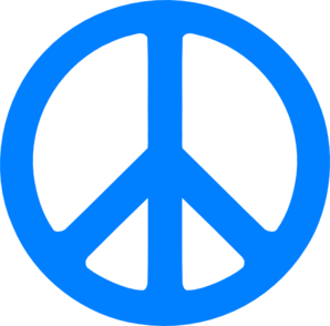 Free Peace Sign Clip Art Pictures.