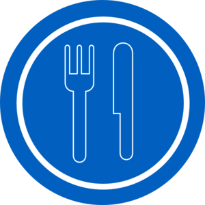 Food Sign Clipart.