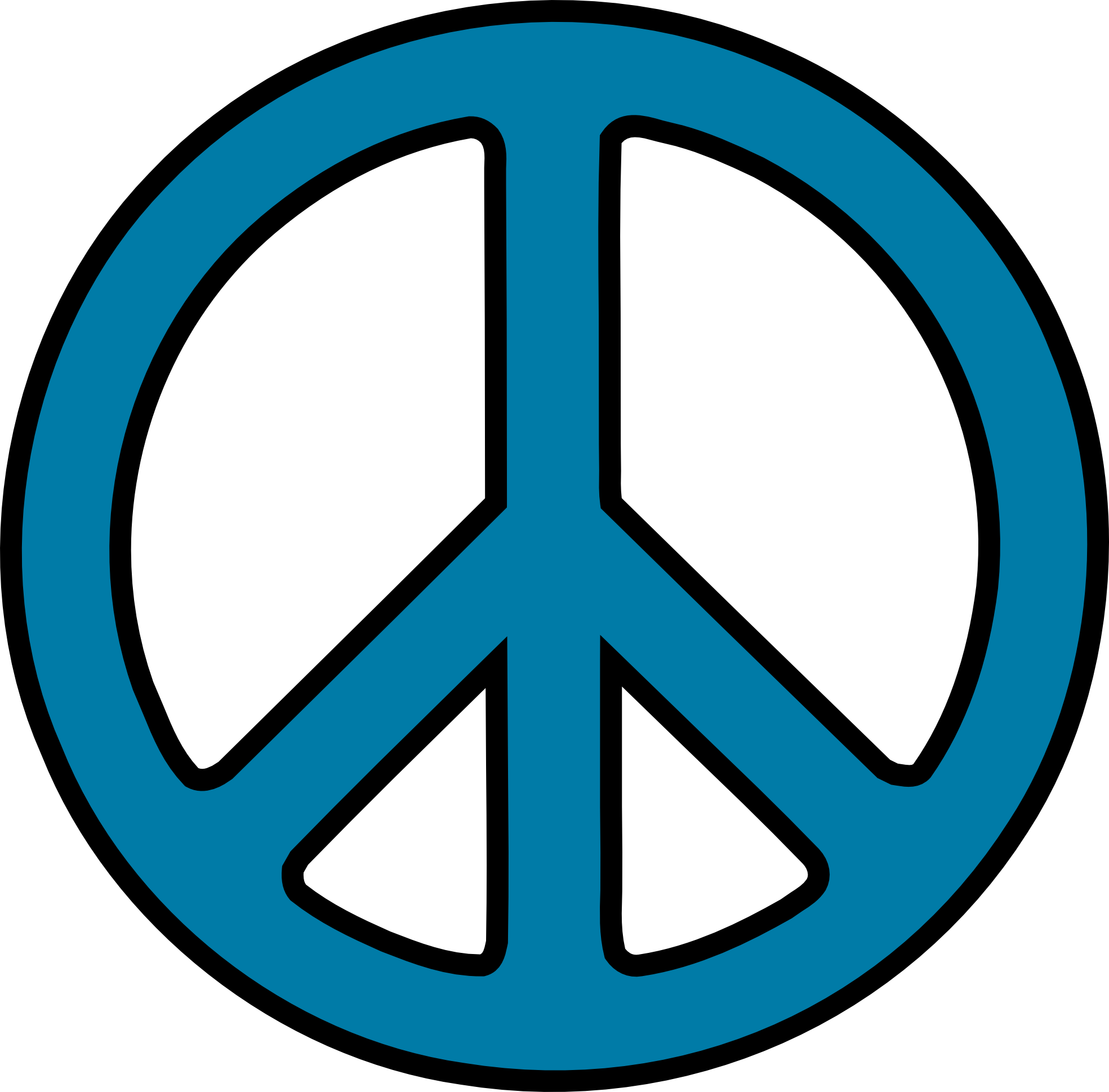 Peace signs clip art.