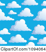 Blue skies clipart #19
