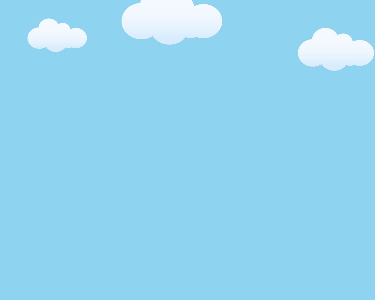 Powerpoint Templates PPT Background, Clouds On Blue Sky For.