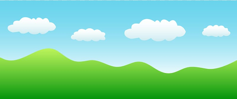 Green Grassland Sky Ecoregion , Blue Sky transparent background PNG.
