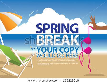 Spring Break Stock Photos, Royalty.