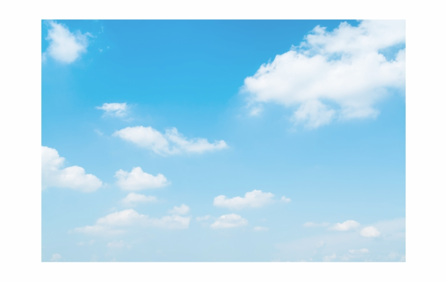 Blue sky download free clipart with a transparent background.