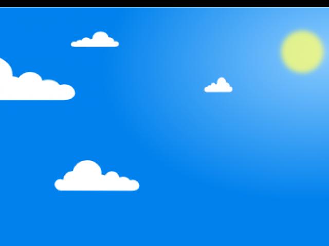 Blue Sky Clipart.