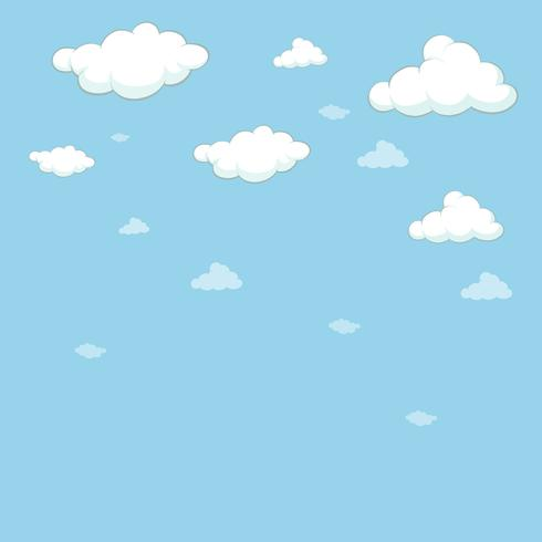 Background template with blue sky.
