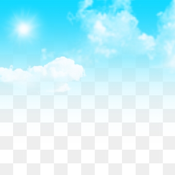 Blue Sky And White Clouds PNG Images.