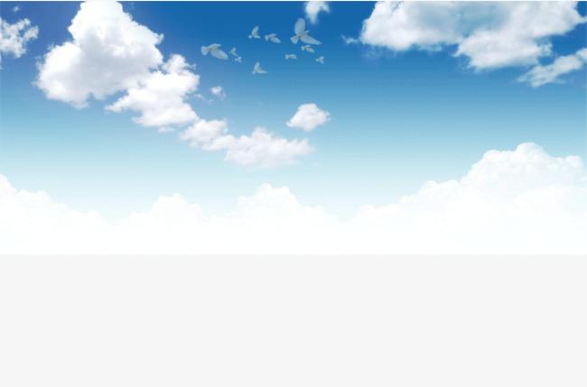 Blue Sky Clouds, Fresh And Natural, Natu #61142.