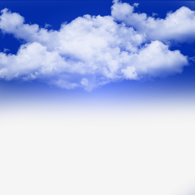 Fantasy Blue Sky With Clouds, Clouds Clip Art, Rainy Clouds, Sky PNG.